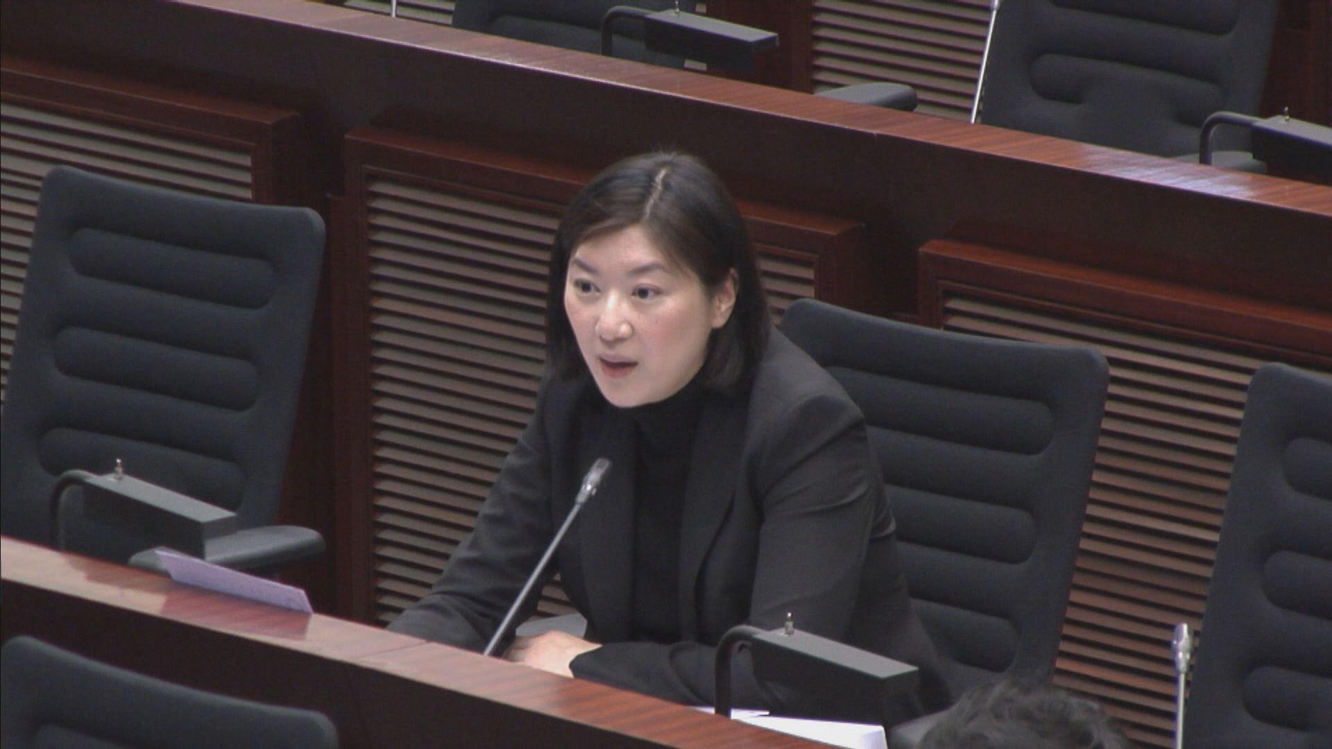 容海恩擊敗涂謹申任保安事務委員會副主席