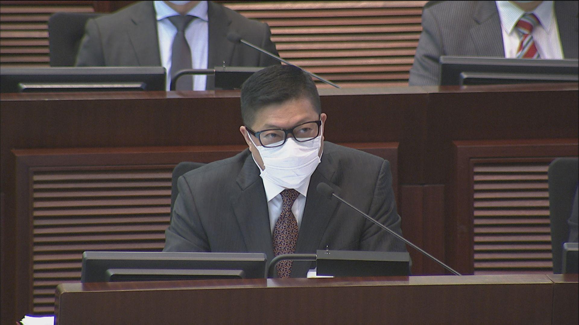鄧炳強:警員領超時工作津貼只因暴徒作破壞