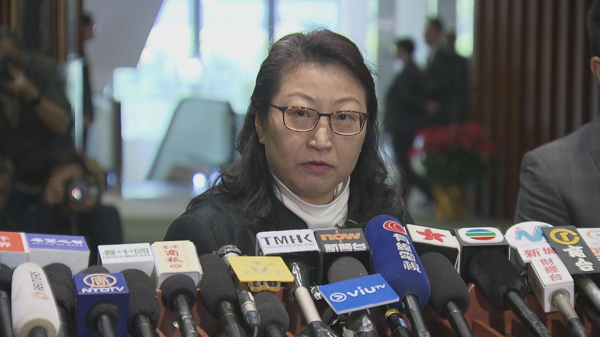 政府重申鄭若驊上任後仍參與仲裁業務指控無根據