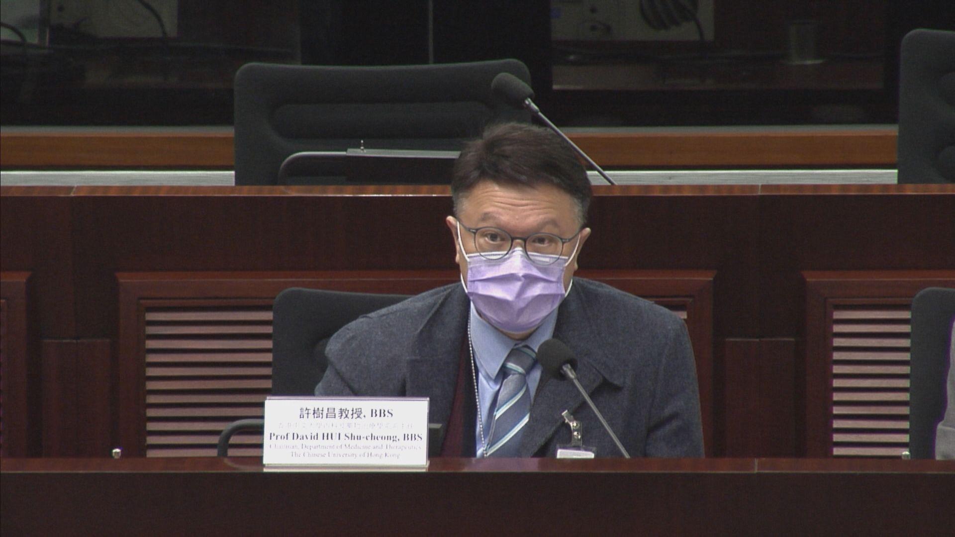 許樹昌:本港居住及營商環境不宜全民檢測