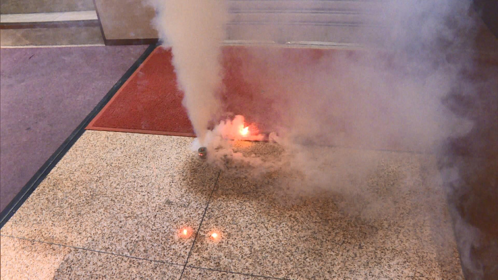 保安局指警隊所採購的催淚彈均通過安全測試