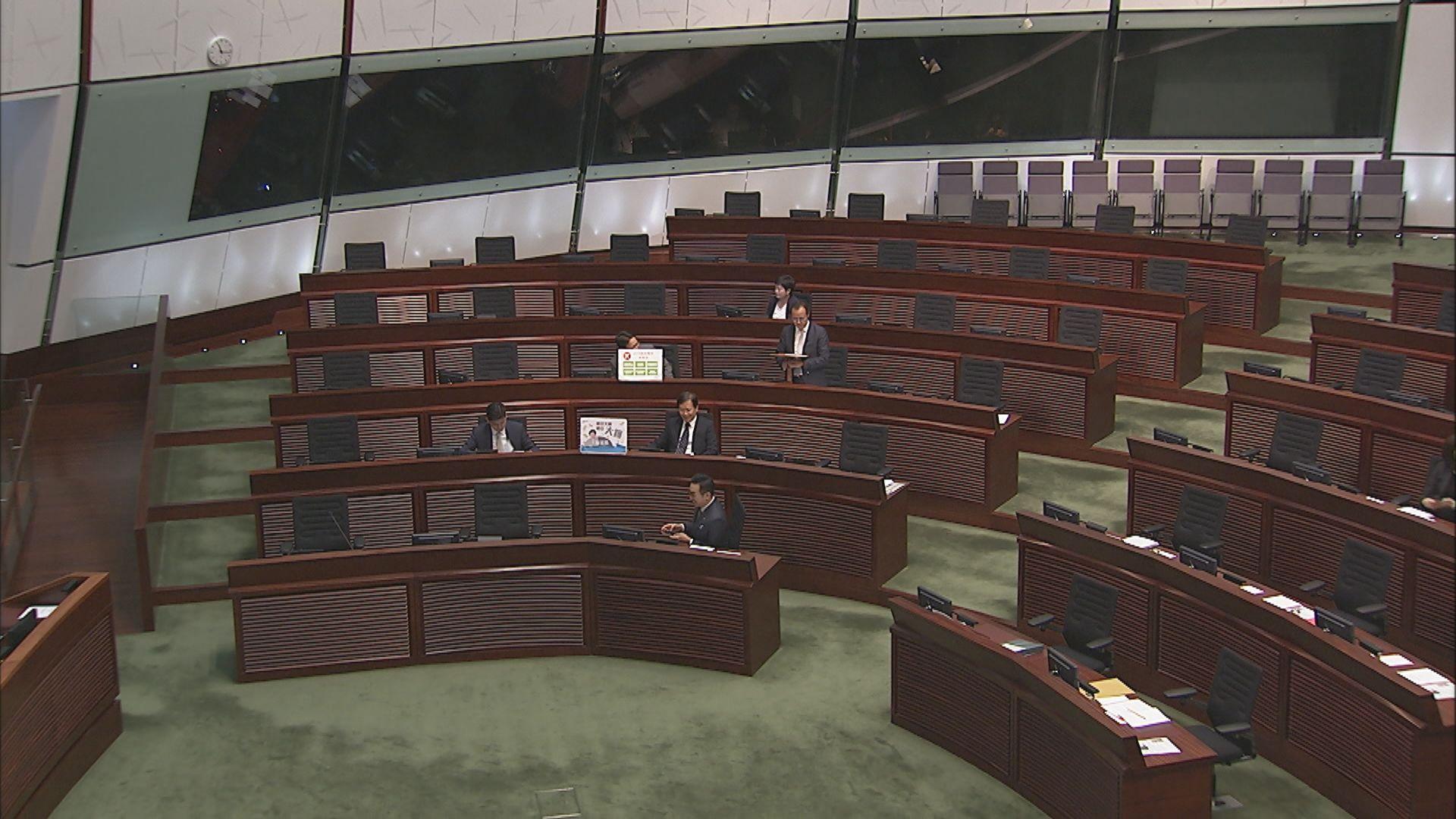 立法會一連三天辯論施政報告致謝議案