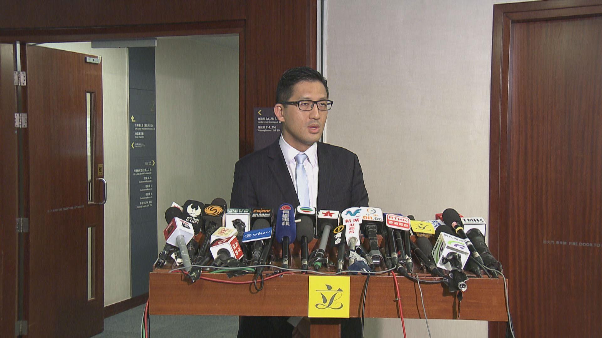 林卓廷:消息指廉署內部亦質疑律政司決定