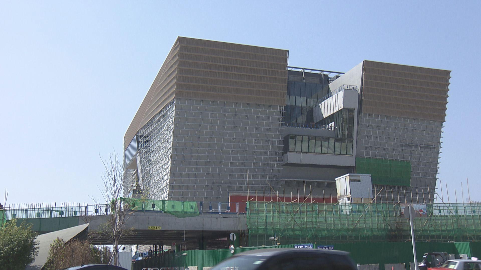 香港故宮文化博物館預計開館後每年二百萬人次參觀