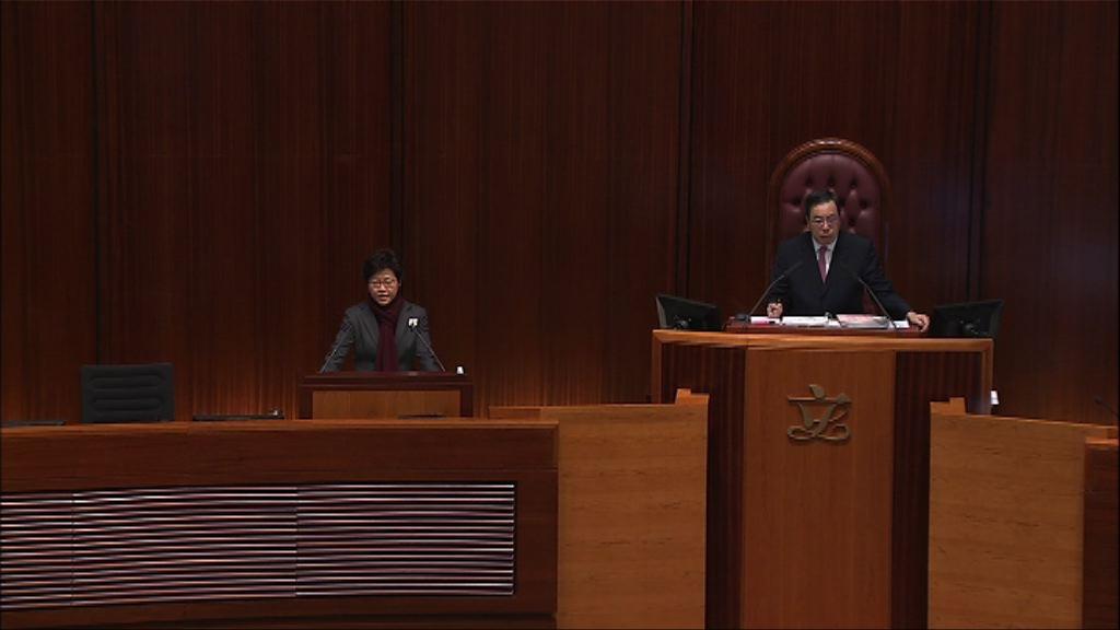 林鄭:一直記掛23條立法但未有時間表