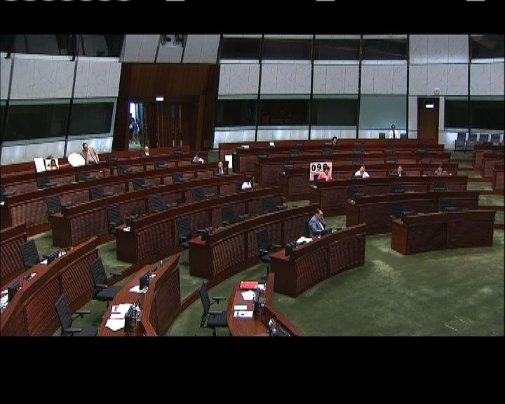 立法會多次召集議員表決預算案
