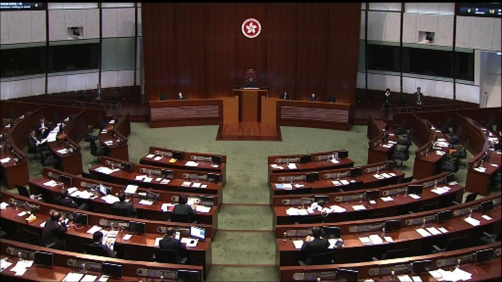 立法會繼續審議財政預算案