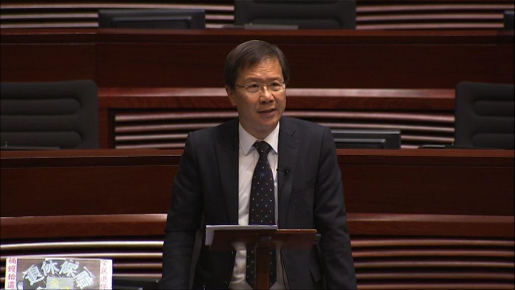 預算案相關草案恢復二讀