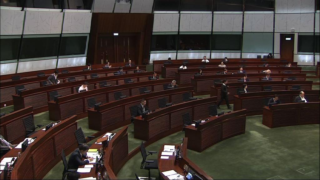 立法會繼續審議預算案