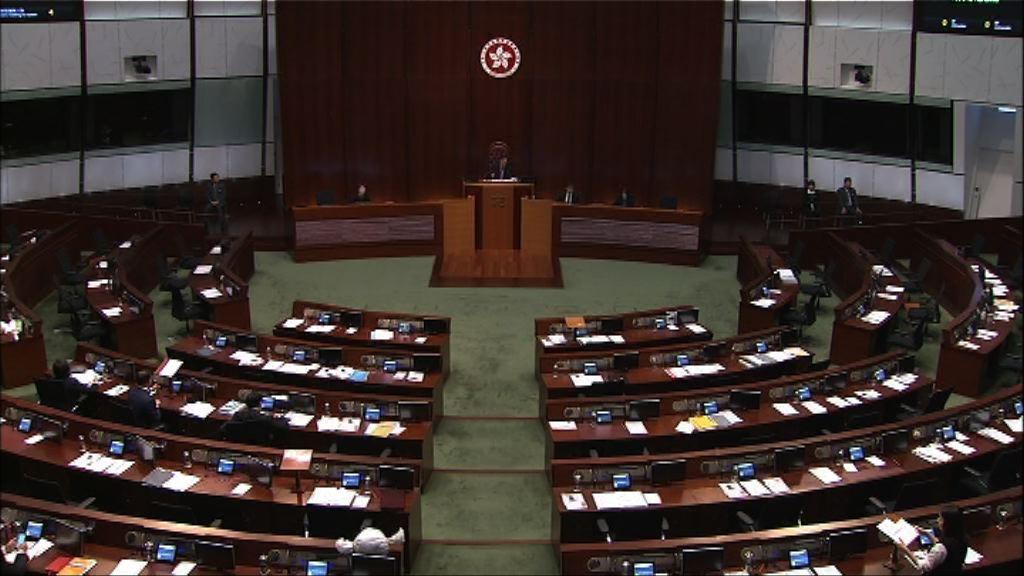 民主派就撥款條例草案至少提六百項修正案