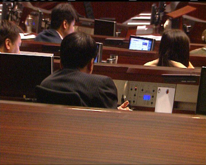 預算案開始逐項表決修正案