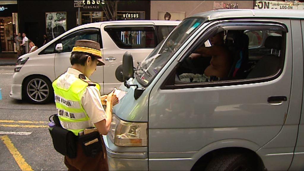 立法會通過調高五項交通違例定額罰款