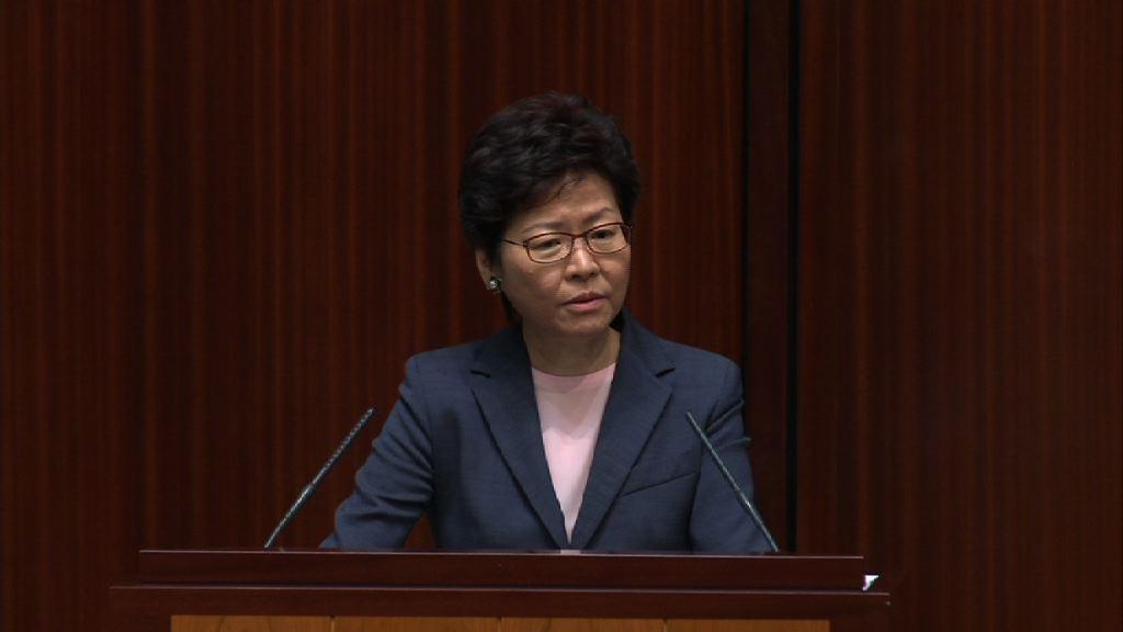 林鄭沒回應會否譴責公安暴力待記者
