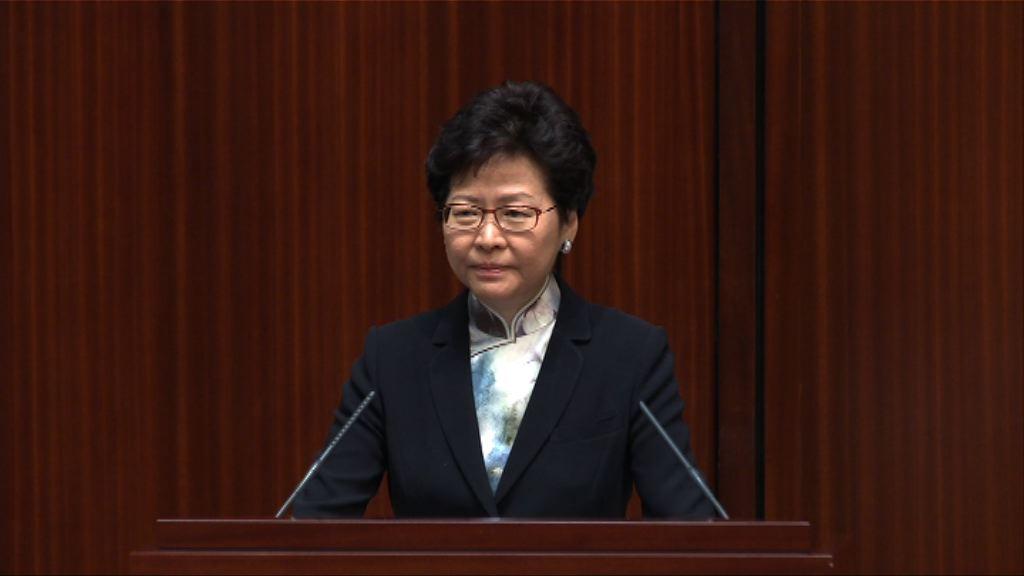 林鄭:公私營合作非向權貴跪低