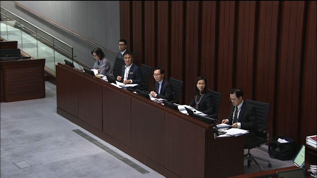 迪士尼擴建撥款 財委會仍未付諸表決