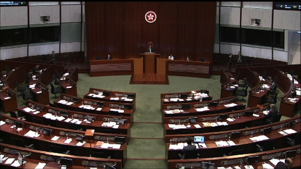 立法會二讀辯論改革醫委會草案