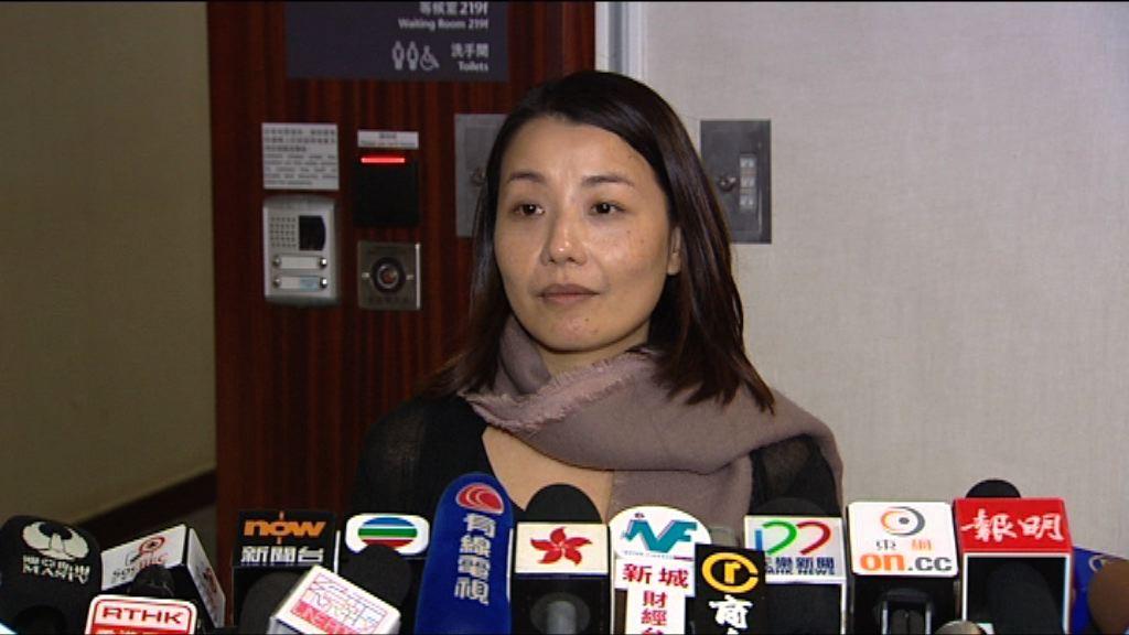 劉小麗:梁君彥確認四人宣誓 追討薪津不負責任