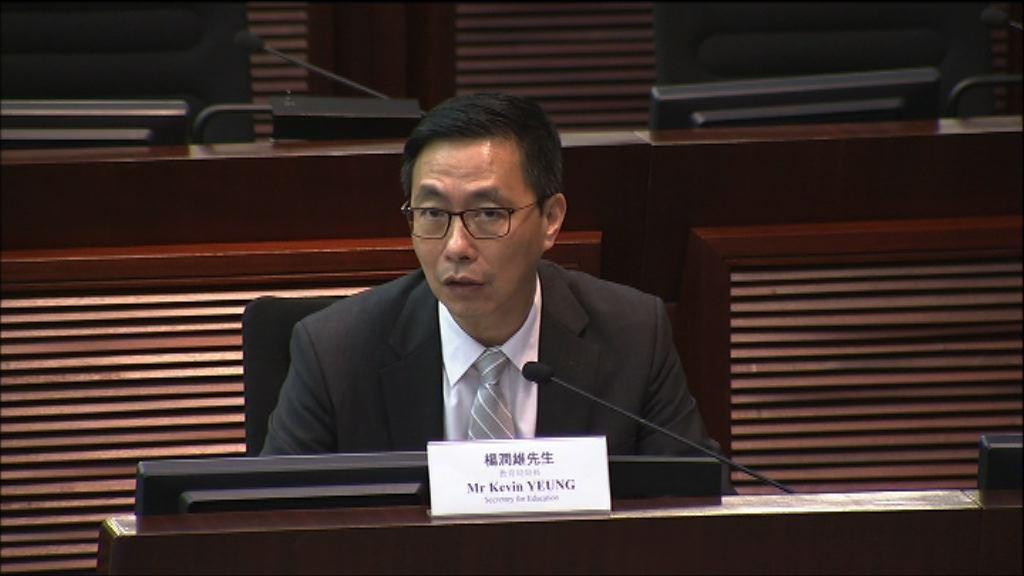 楊潤雄:一校一社工不會令現職人員失去工作