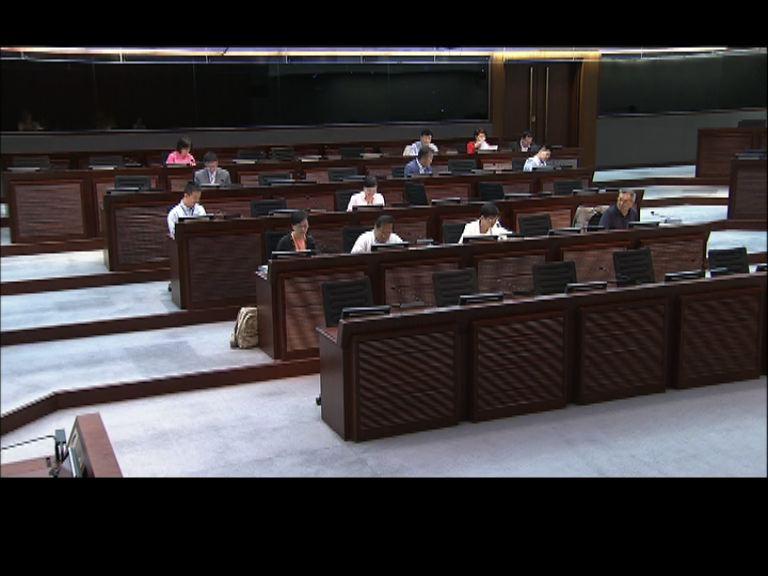 通識科檢討政治內容 議員存分歧