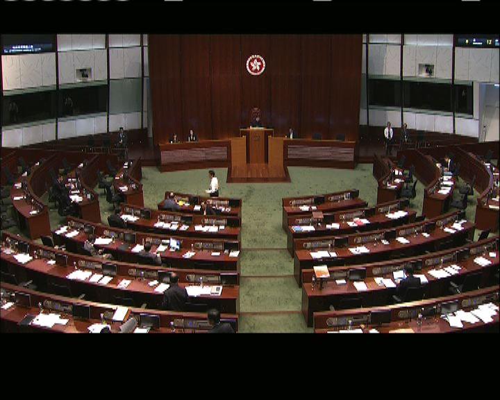 黃國健撤回議案 立法會休會