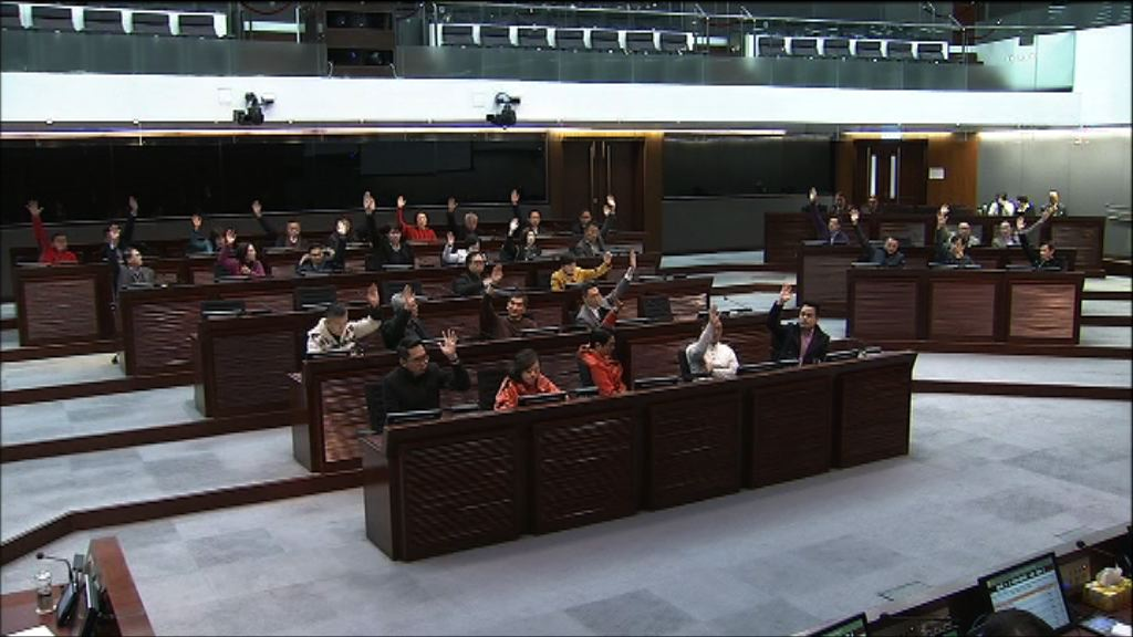財委會通過修改會議程序制度議案