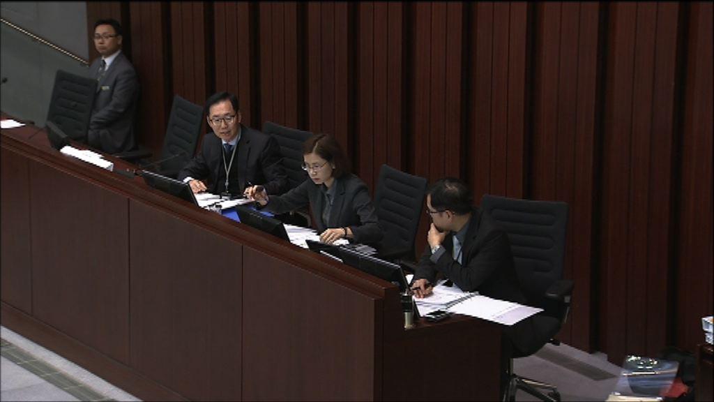 財委會審議修改會議程序機制 民主派不滿陳健波否決修正案