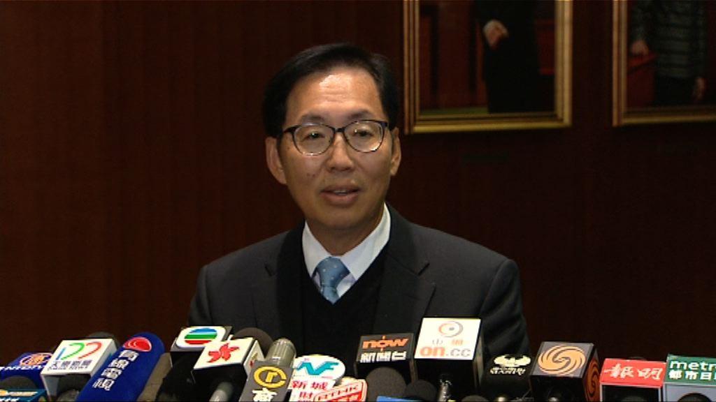 陳健波冀周六加會能表決下屆官員加薪建議