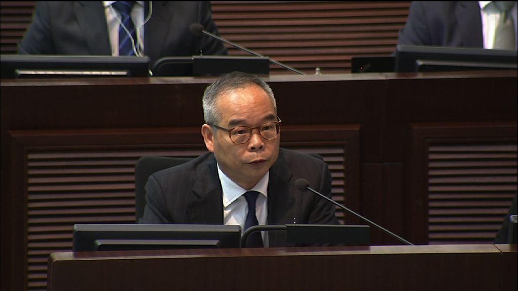 劉江華:落實啟德體育園責任在立法會