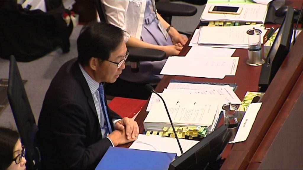 陳健波:政府整合項目望盡快通過撥款