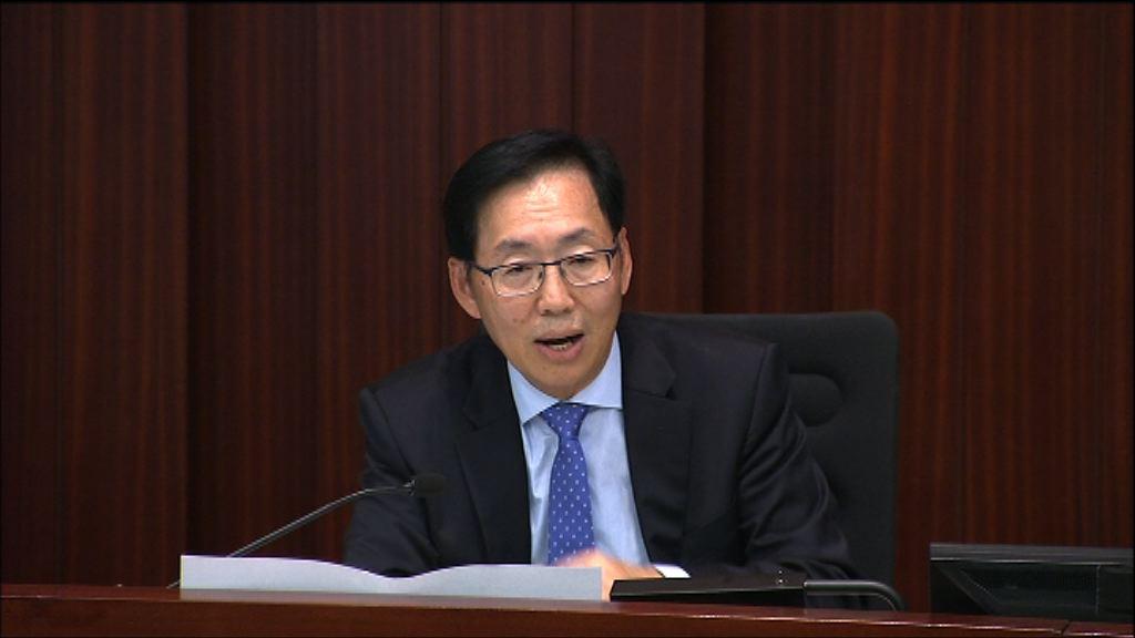 陳健波稱不會撤回新主席指示