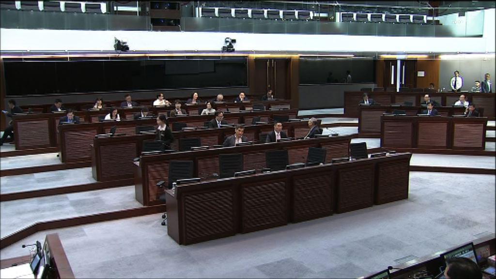 財委會未能表決沙中綫工程追加撥款