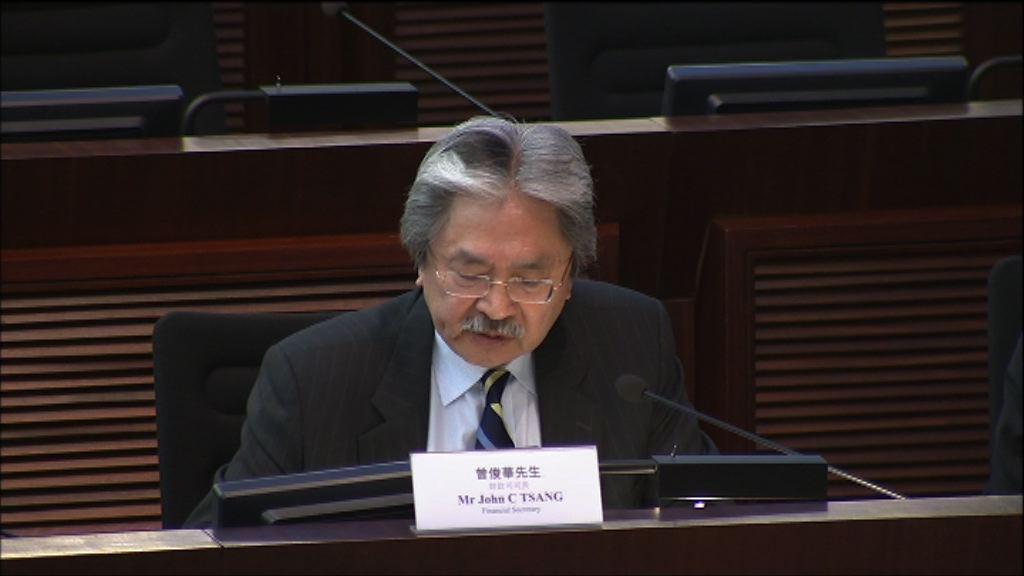 曾俊華不回應四名被覆核宣誓議員提問