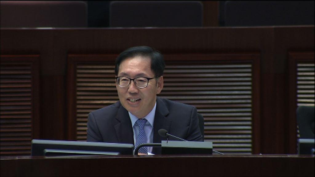陳健波連任財委會主席