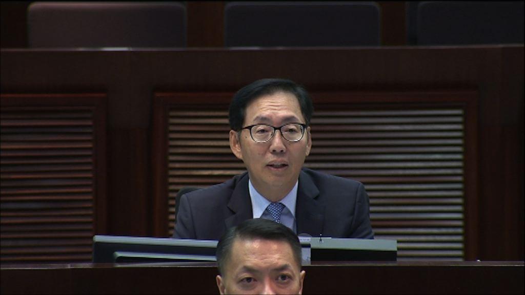 陳健波指修改議事程序更好運用會議時間