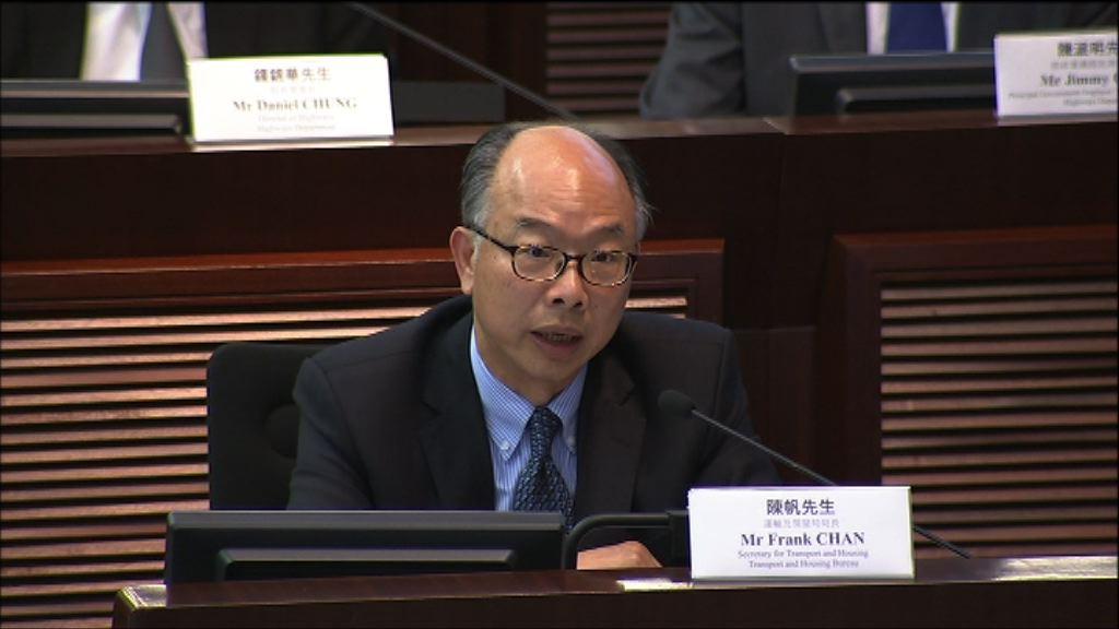 陳帆:已要求港鐵就紅磡鋼筋造假提交報告