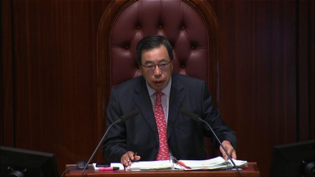 梁君彥:不信任動議將由代主席處理