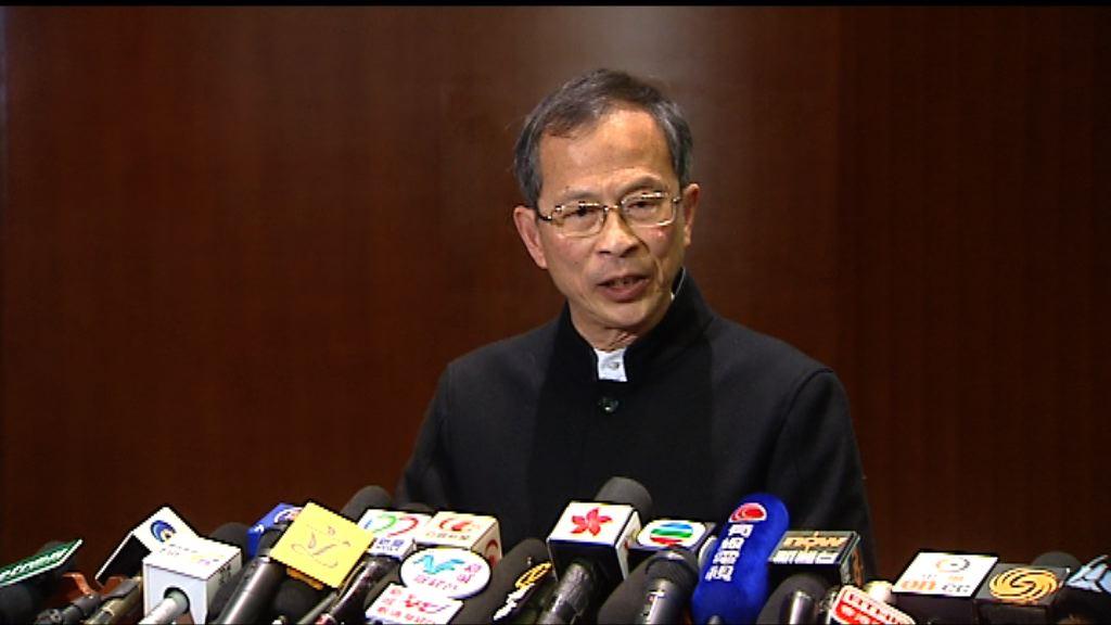 曾鈺成:稍後決定會否加會審議版權條例