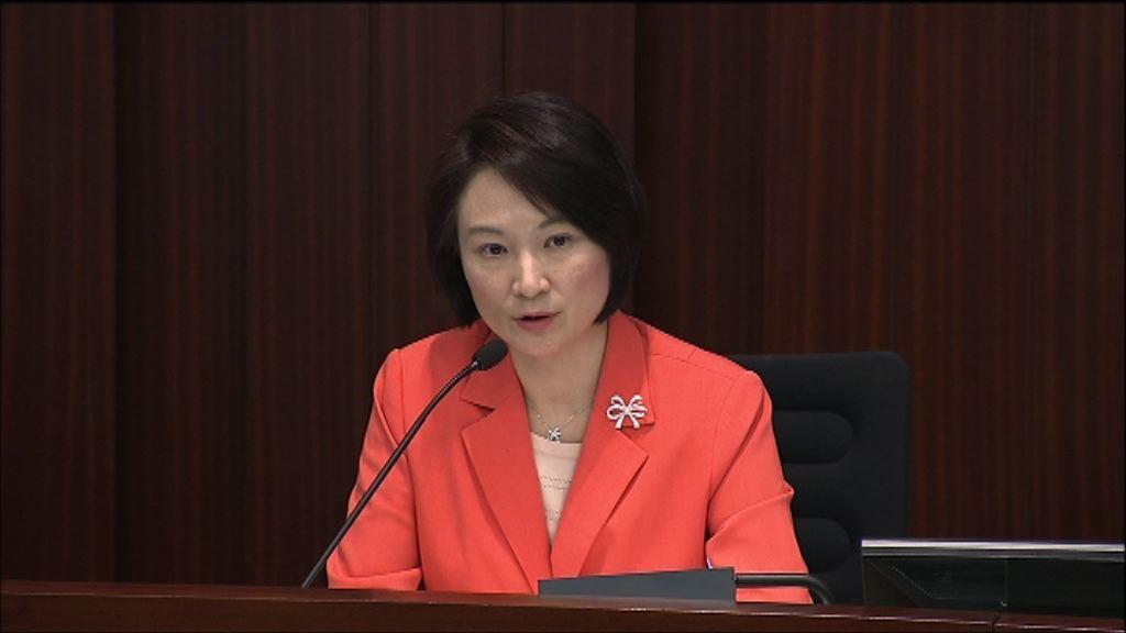 內會討論議事規則修訂 李慧琼就發言劃線