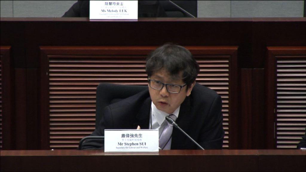 蕭偉強:政府強積金對沖方案能解決對沖問題