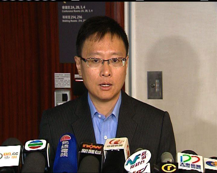 陳家洛:行管會可有條件開放示威區