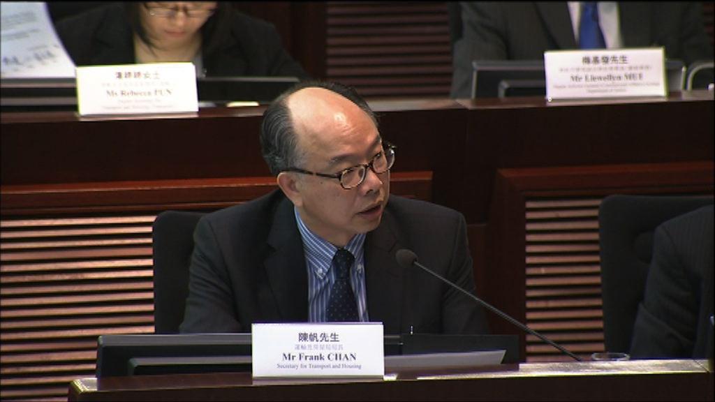 陳帆重申一地兩檢為社會帶來最大經濟效益
