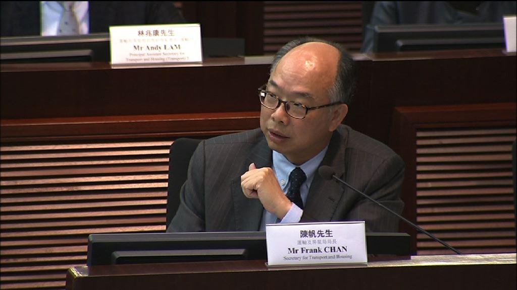 陳帆:會評估報告後決定是否恢復高鐵試運