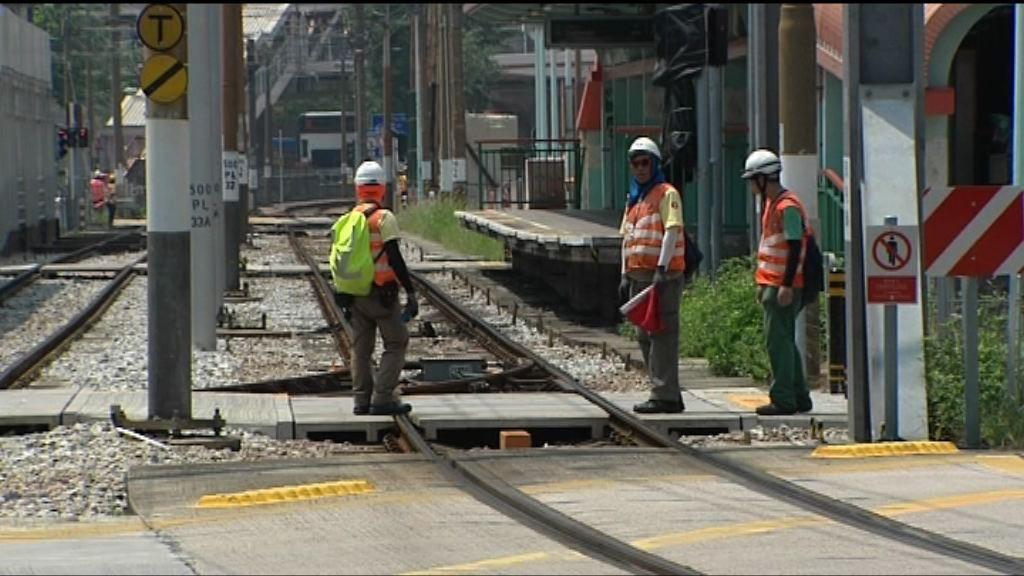 政府強調天榮站路軌符合安全標準