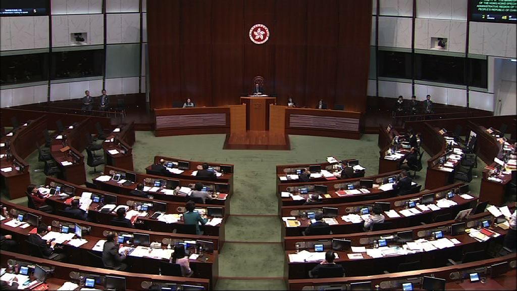 議事規則修訂續審 會議兩度暫停