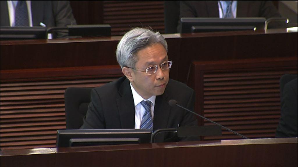 羅智光:暫未有興建公務員學院時間表