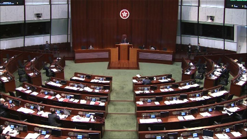 立法會恢復二讀印花稅修訂條例