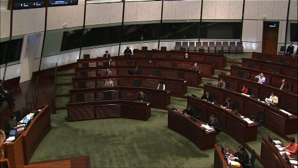 立法會恢復審議印花稅修訂條例草案