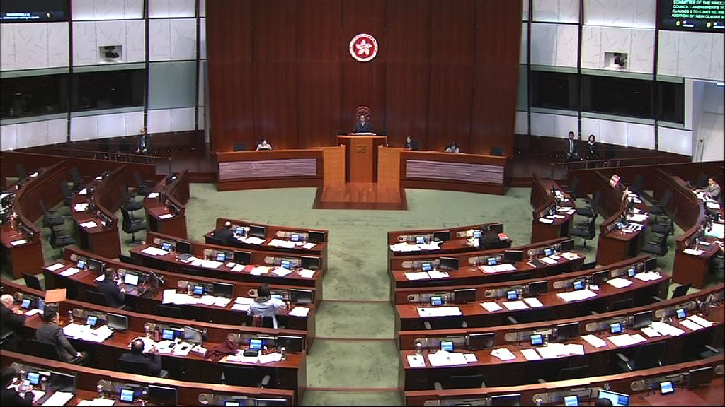 立法會三讀通過印花稅修訂