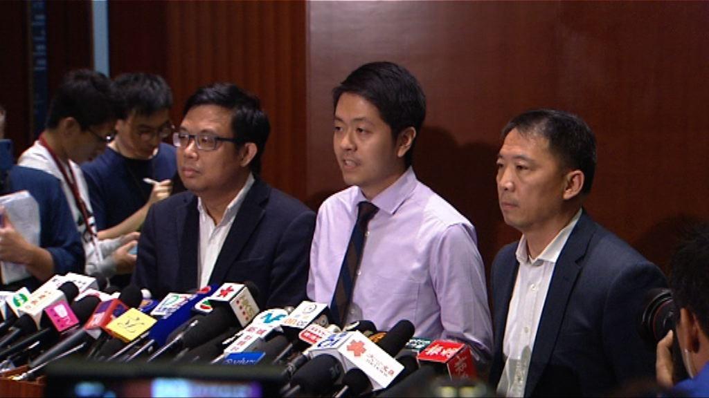 胡志偉:民主黨會透過內部機制處理
