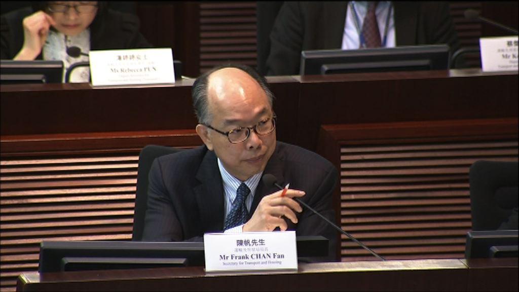 陳帆:研究是否將村巴紅巴納入交通補貼計劃